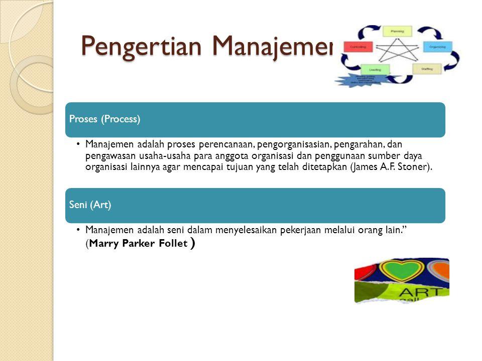 Pengertian Manajemen Proses (Process)