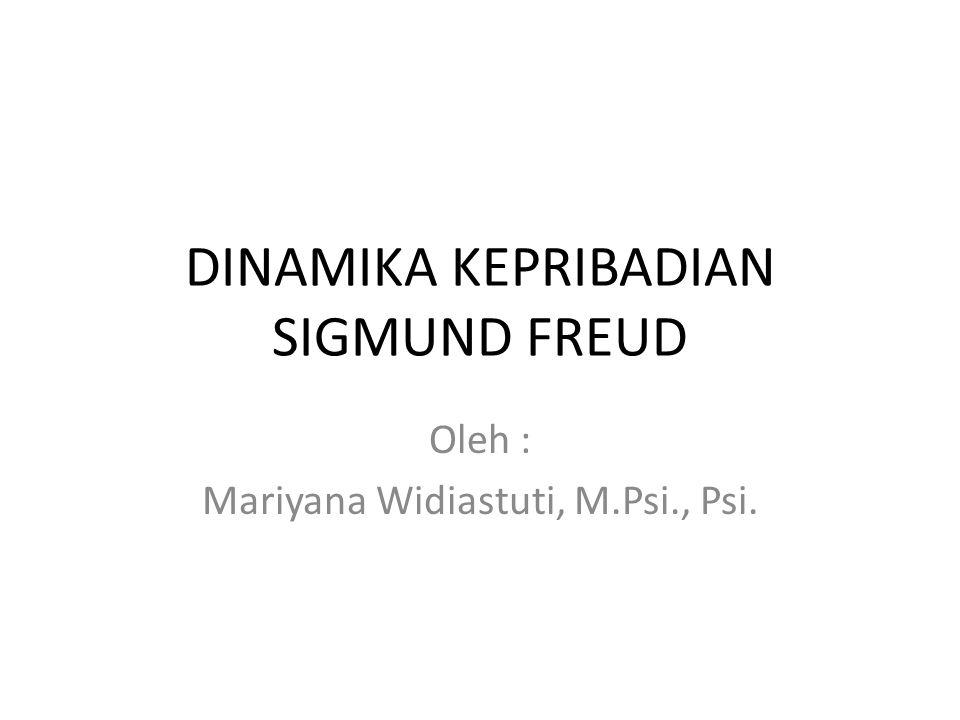 DINAMIKA KEPRIBADIAN SIGMUND FREUD