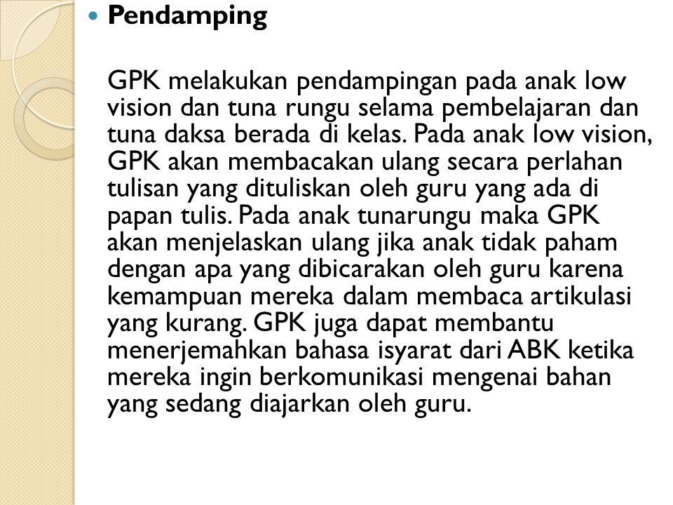 Pendamping
