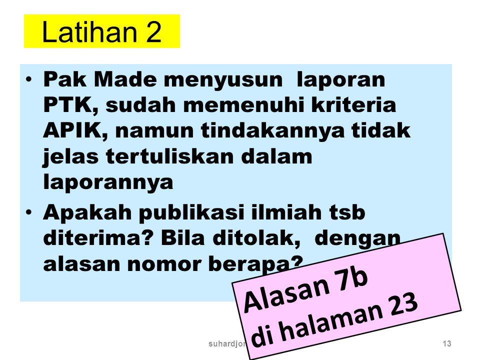 Alasan 7b Latihan 2 di halaman 23