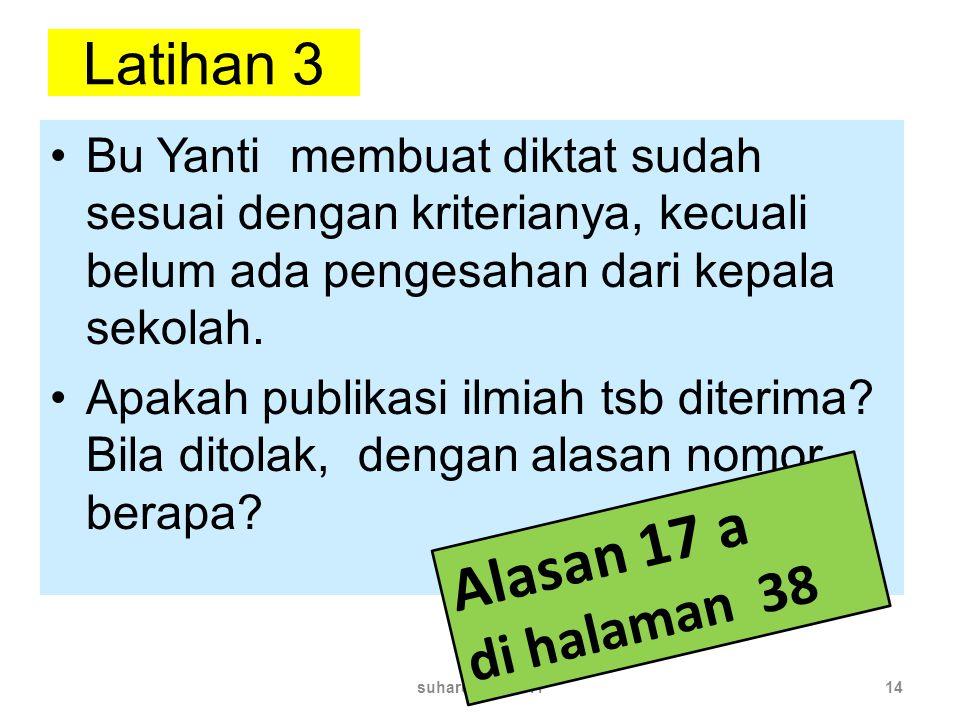 Alasan 17 a Latihan 3 di halaman 38