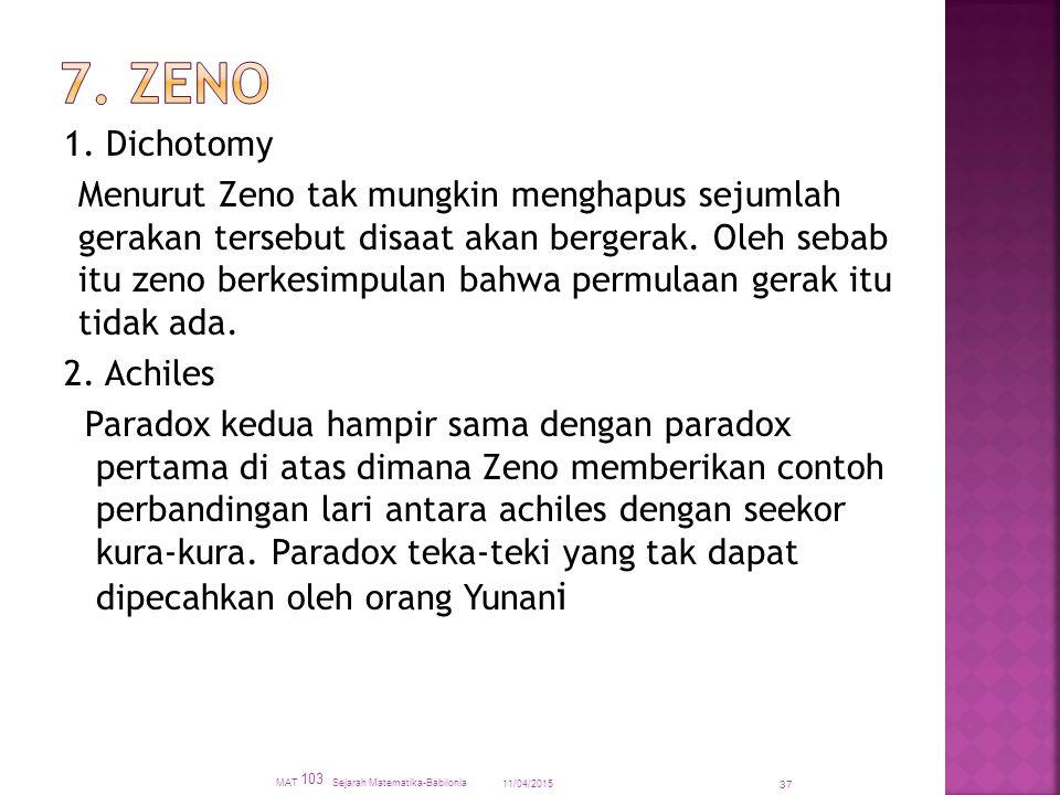 7. Zeno