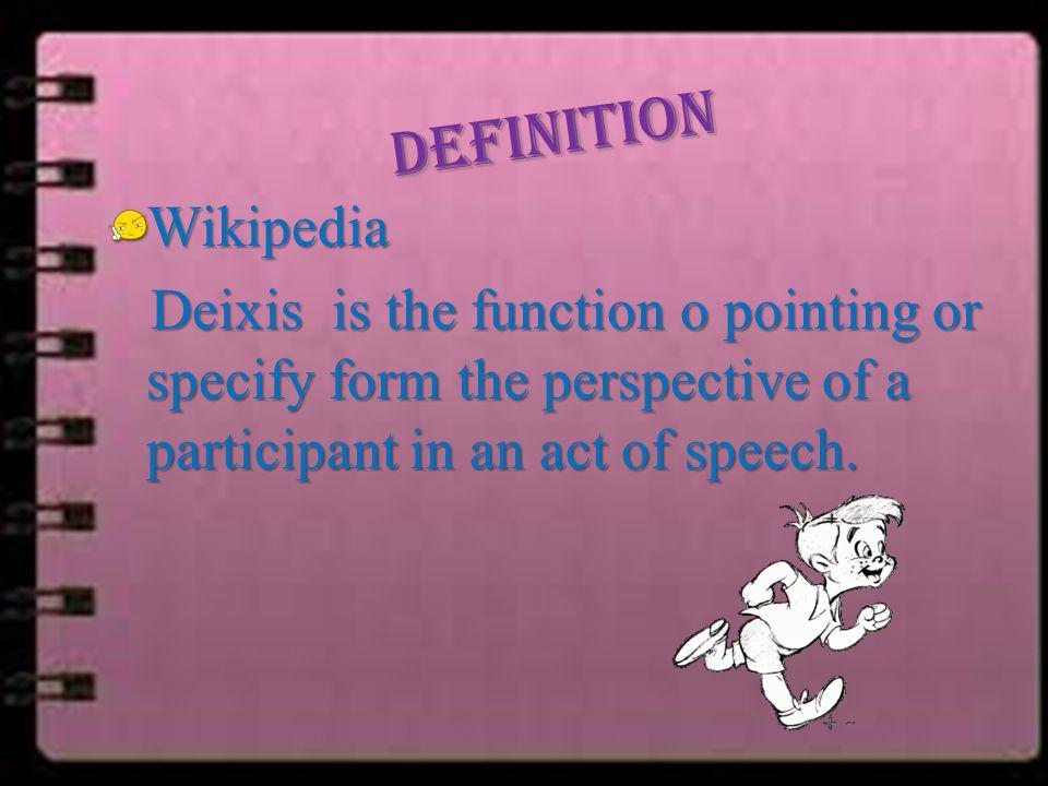 DEFINITION Wikipedia.