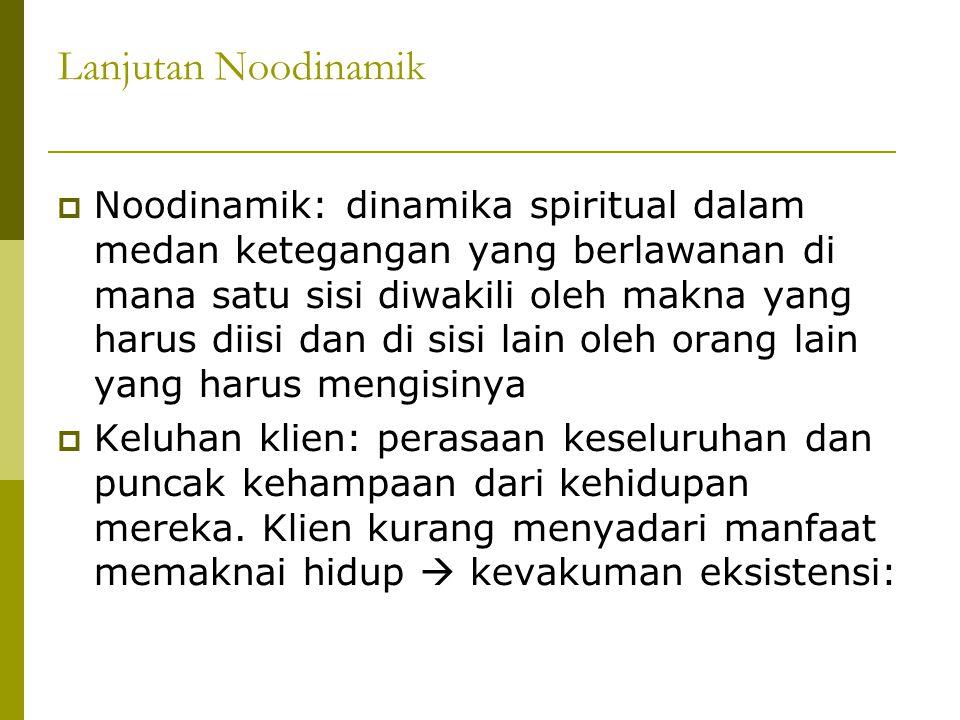 Lanjutan Noodinamik