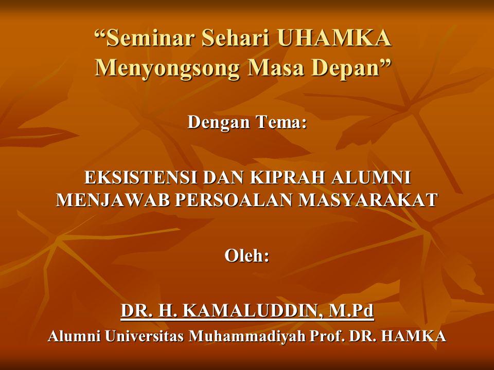 Seminar Sehari UHAMKA Menyongsong Masa Depan