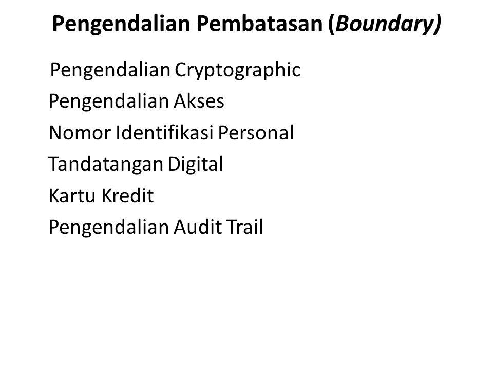Pengendalian Pembatasan (Boundary)