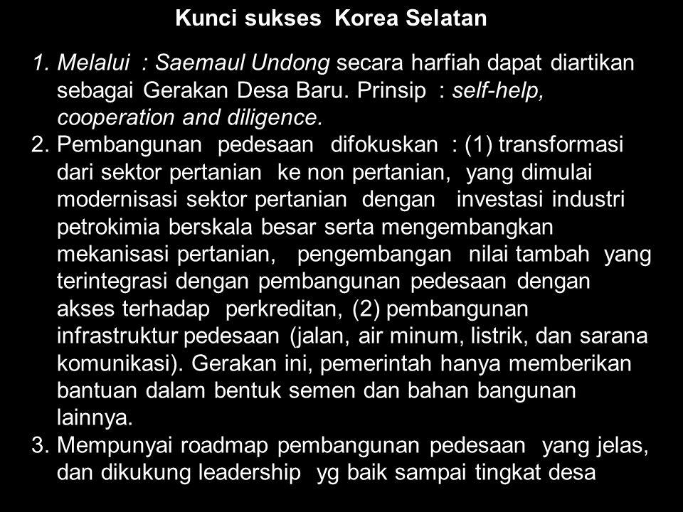 Kunci sukses Korea Selatan