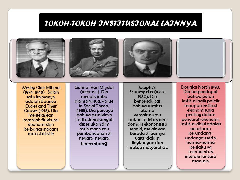 TOKOH-TOKOH INSTITUSIONAL LAINNYA