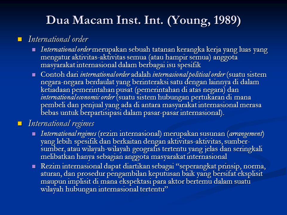 Dua Macam Inst. Int. (Young, 1989)