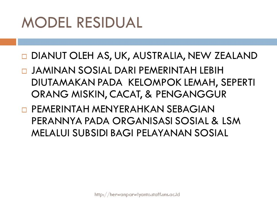 MODEL RESIDUAL DIANUT OLEH AS, UK, AUSTRALIA, NEW ZEALAND