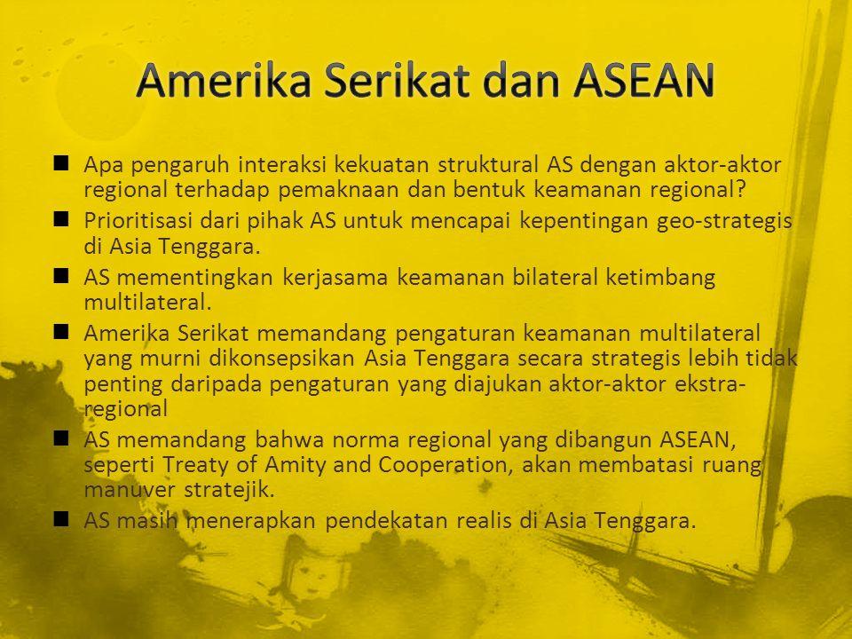 Amerika Serikat dan ASEAN