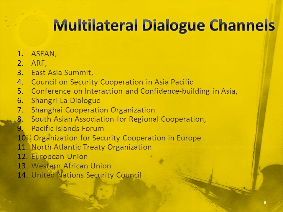 Multilateral Dialogue Channels