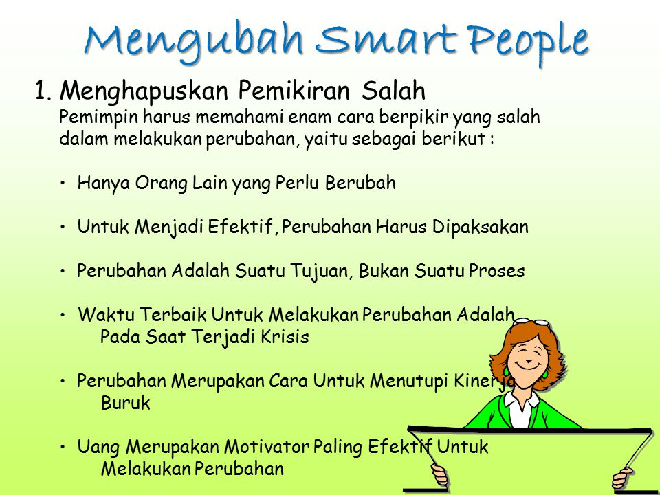 Mengubah Smart People