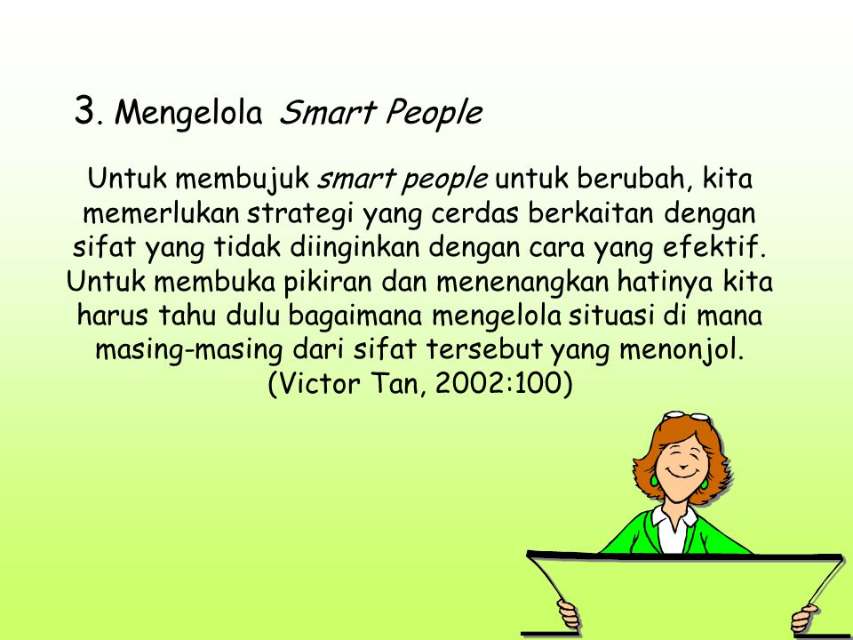 3. Mengelola Smart People