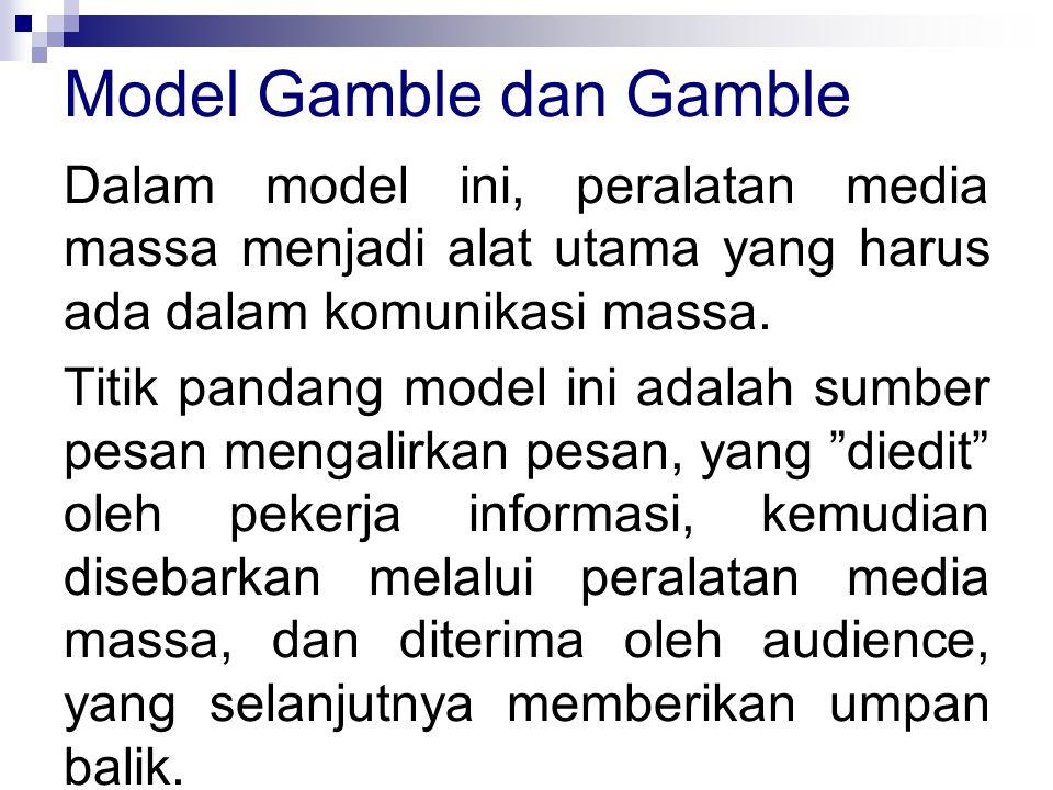 Model Gamble dan Gamble