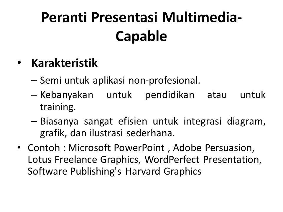 Peranti Presentasi Multimedia-Capable