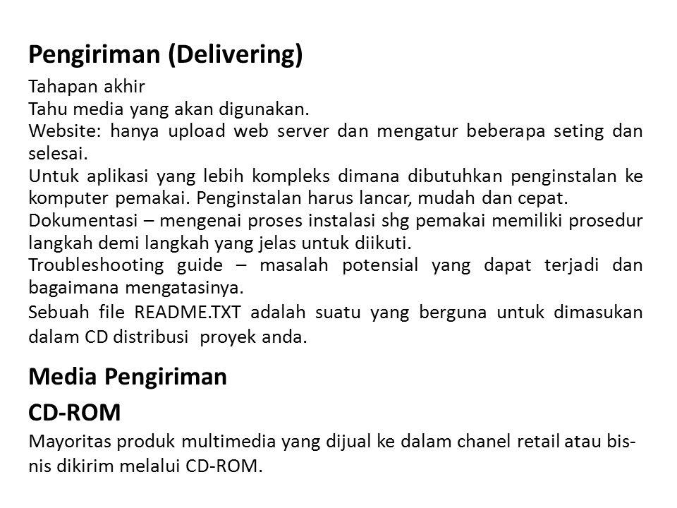 Pengiriman (Delivering)