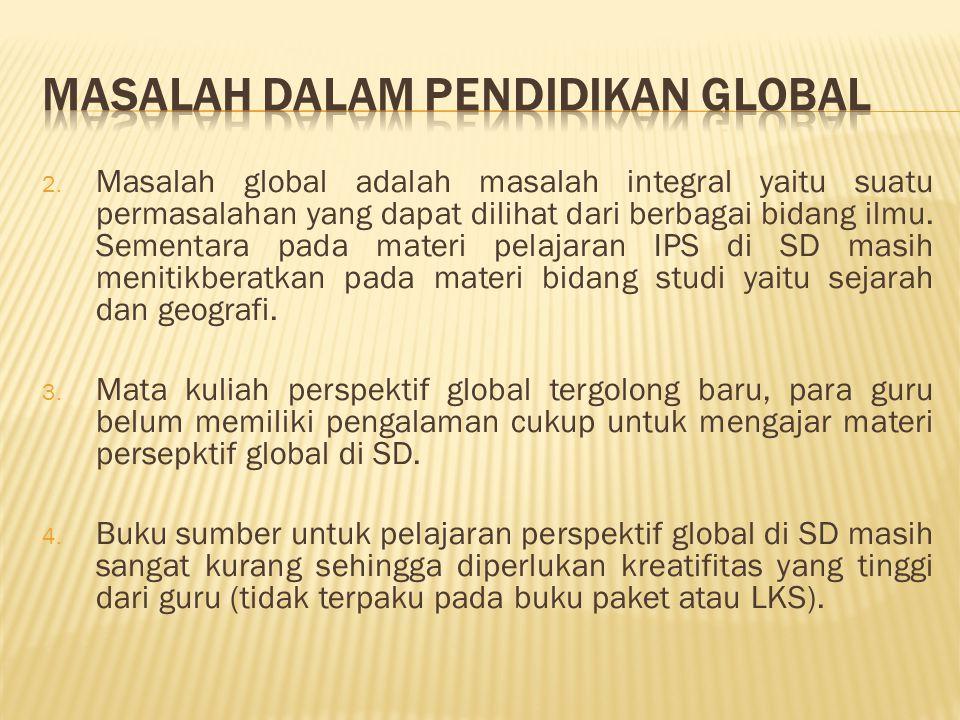 Masalah dalam Pendidikan Global