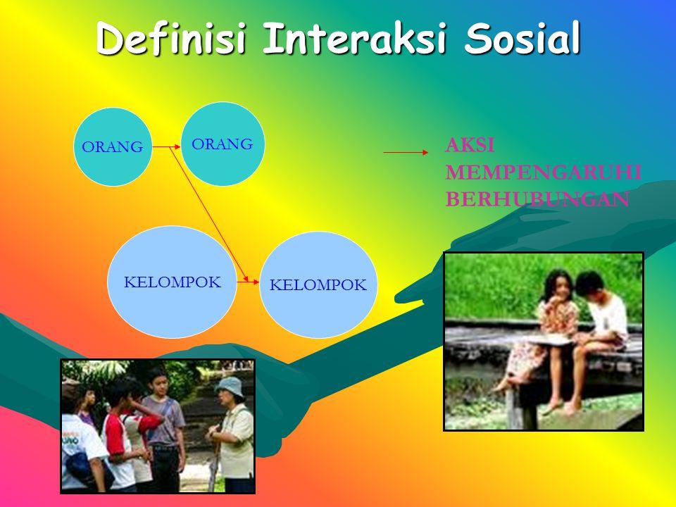 Definisi Interaksi Sosial