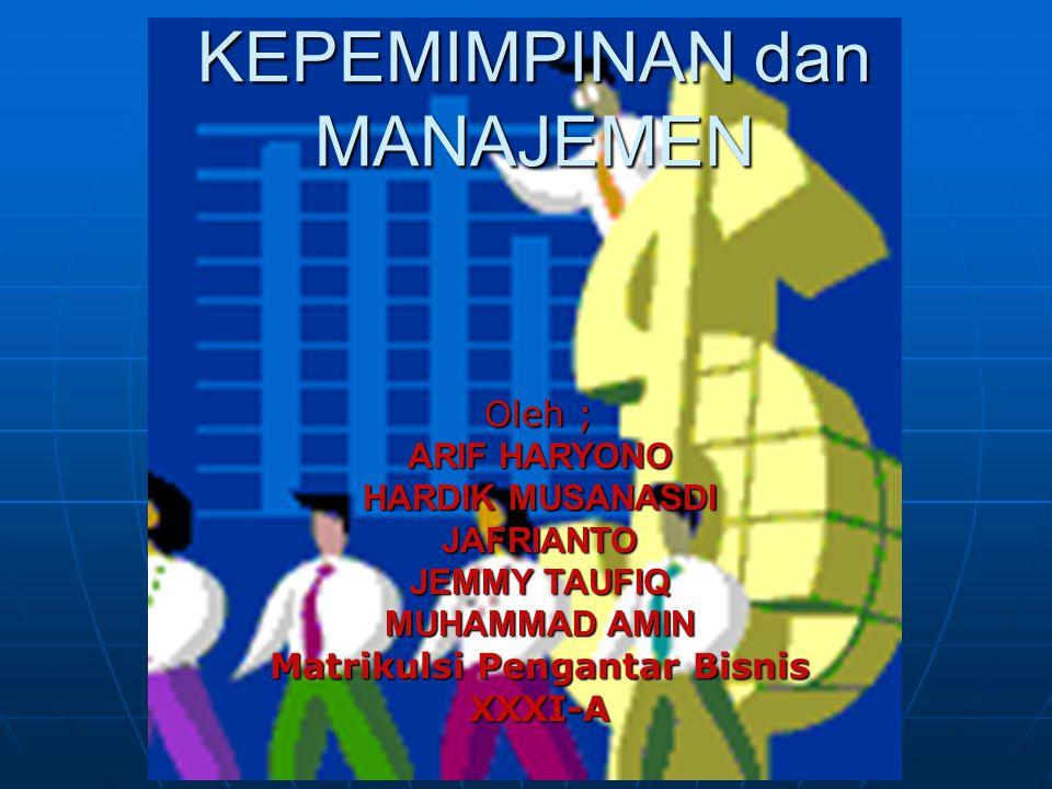 Matrikulsi Pengantar Bisnis