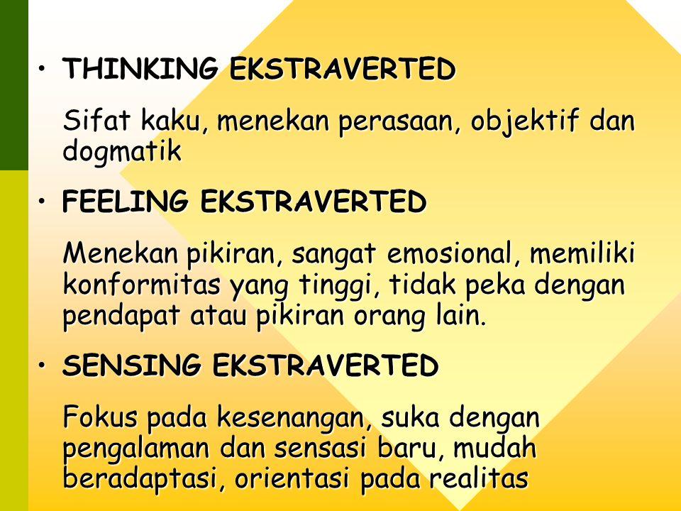 THINKING EKSTRAVERTED