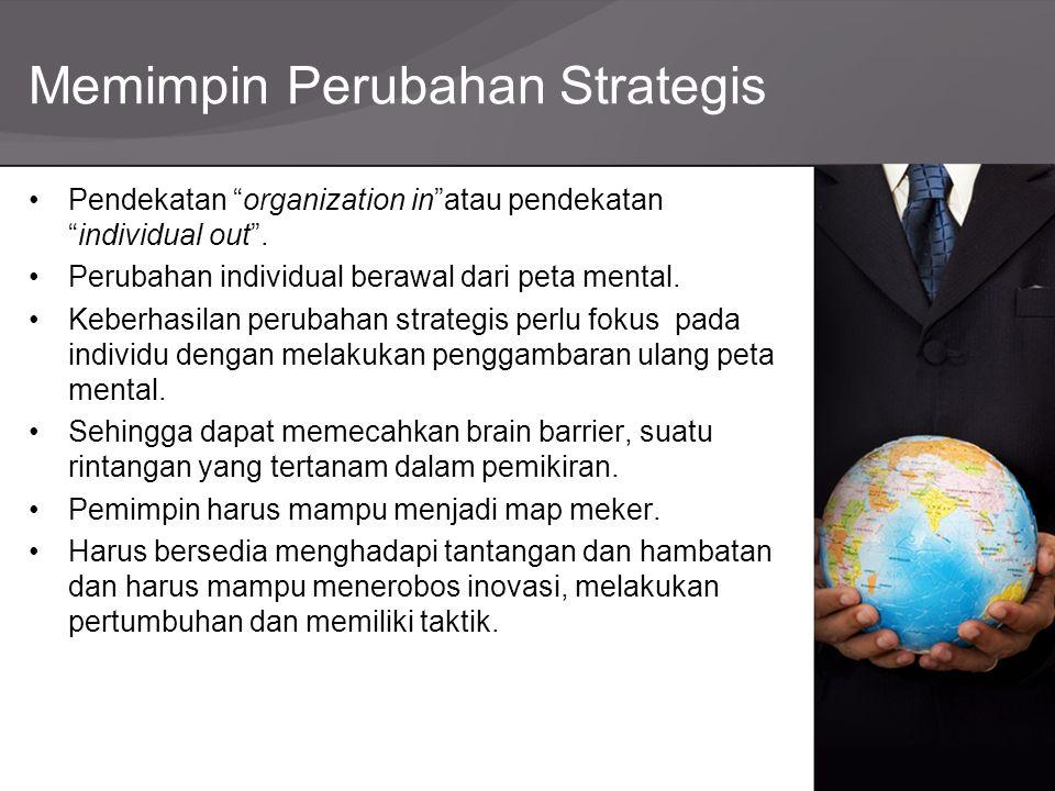 Memimpin Perubahan Strategis