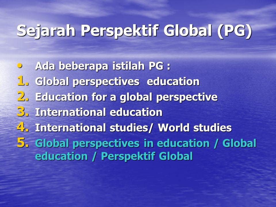 Sejarah Perspektif Global (PG)