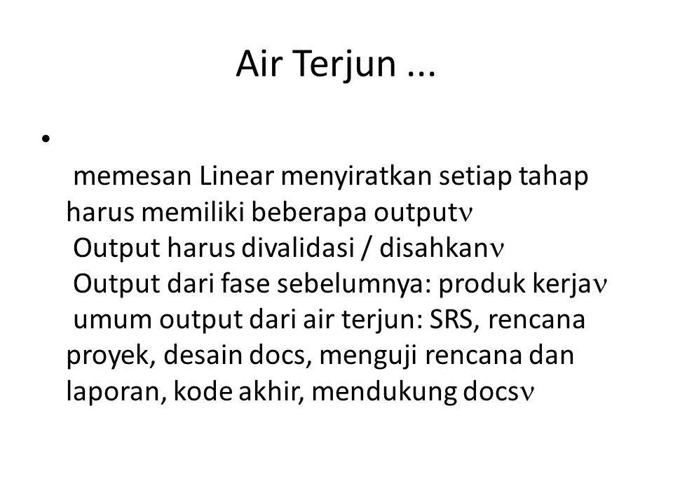 Air Terjun ...