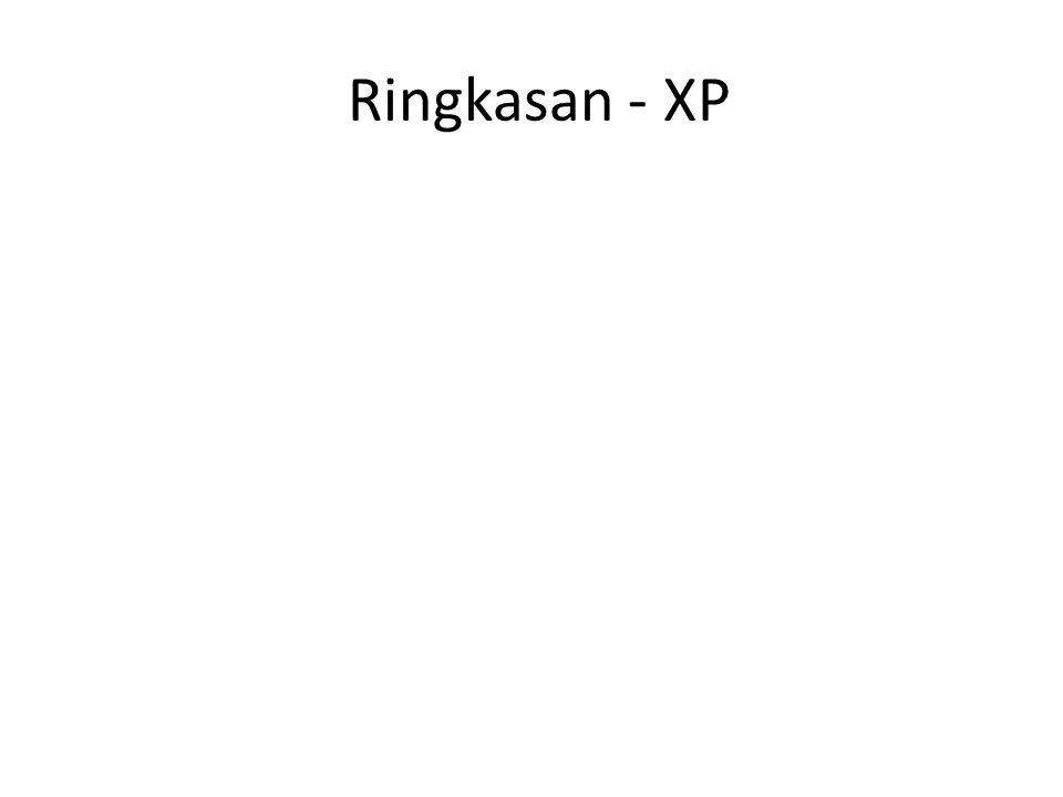 Ringkasan - XP