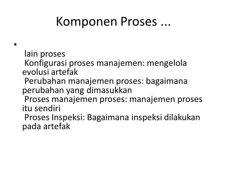 Komponen Proses ...