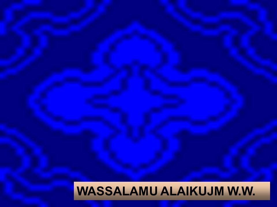 WASSALAMU ALAIKUJM W.W.