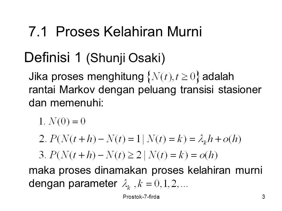7.1 Proses Kelahiran Murni
