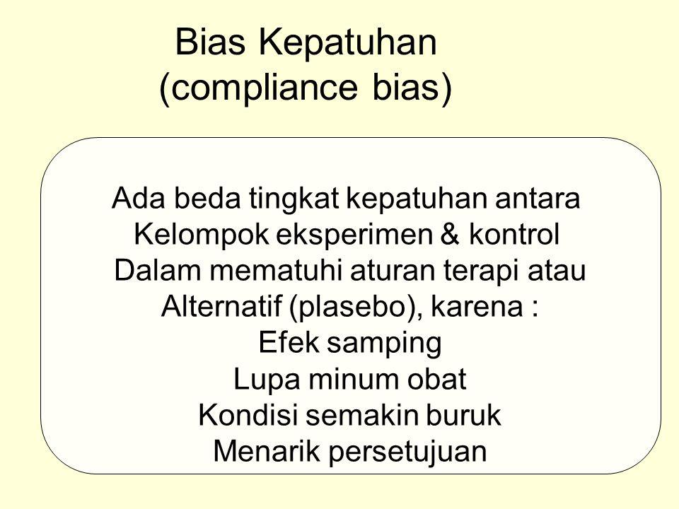 Bias Kepatuhan (compliance bias)