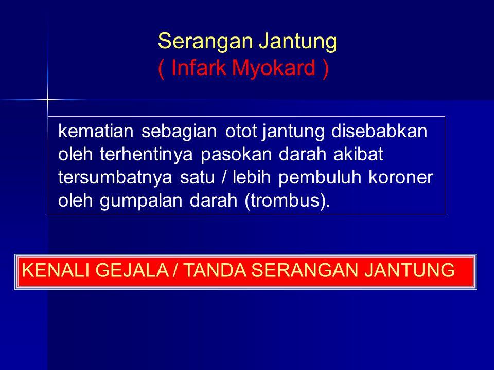 Serangan Jantung ( Infark Myokard )