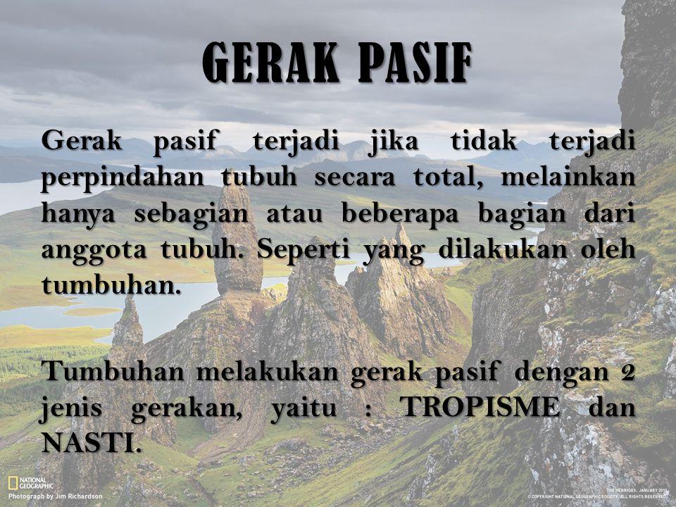 GERAK PASIF