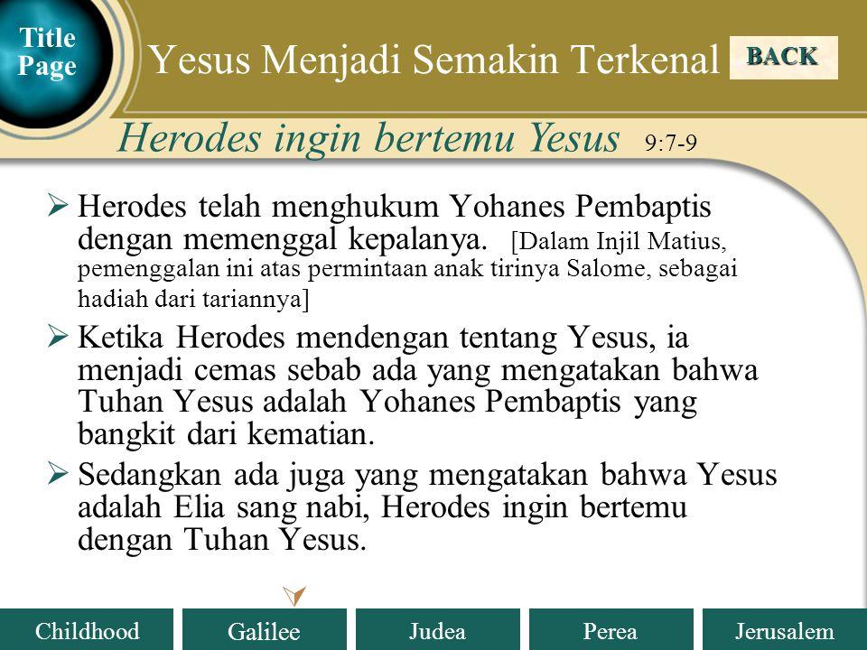 Yesus Menjadi Semakin Terkenal