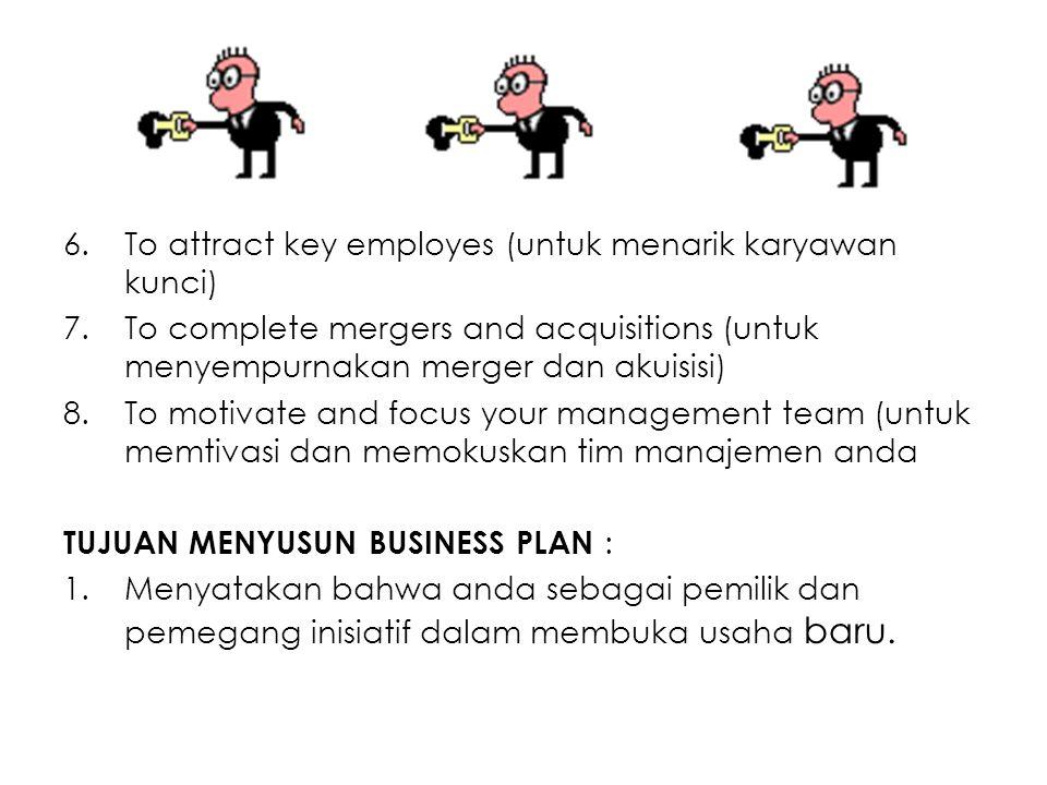 To attract key employes (untuk menarik karyawan kunci)