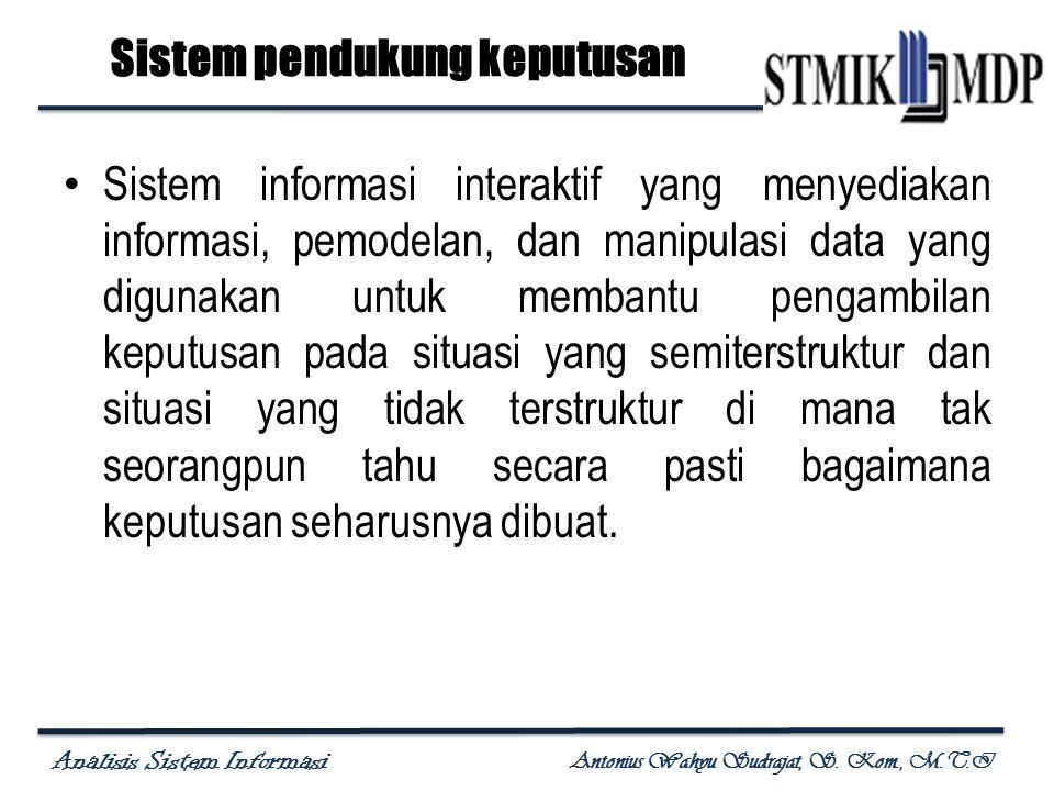 Sistem pendukung keputusan