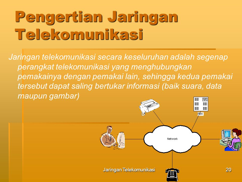 Pengertian Jaringan Telekomunikasi