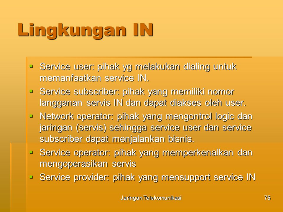 Jaringan Telekomunikasi