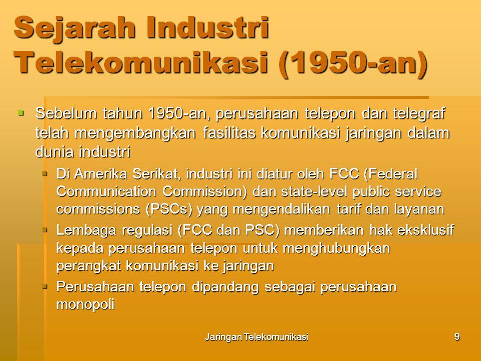 Sejarah Industri Telekomunikasi (1950-an)