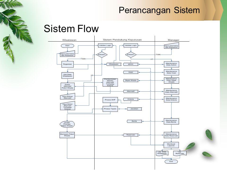 Perancangan Sistem Sistem Flow