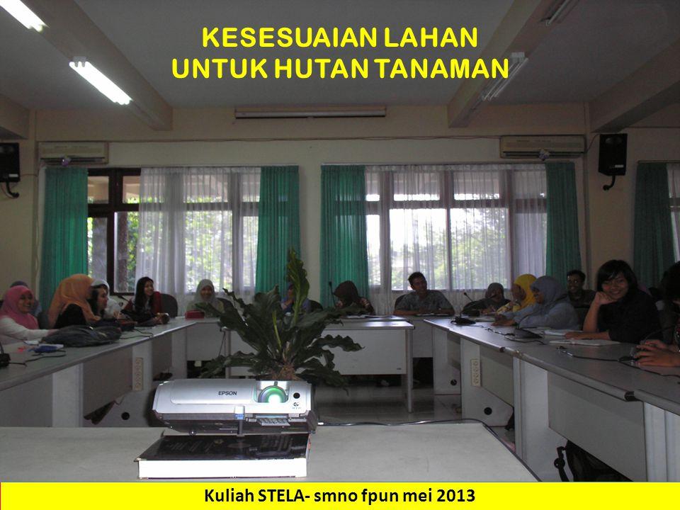 Kuliah STELA- smno fpun mei 2013
