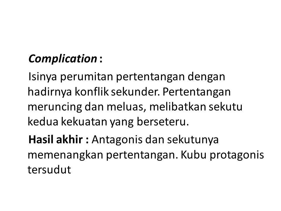 Complication :