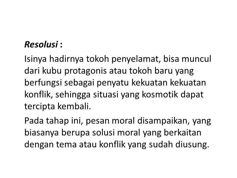 Resolusi :