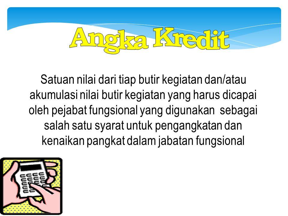 Angka Kredit