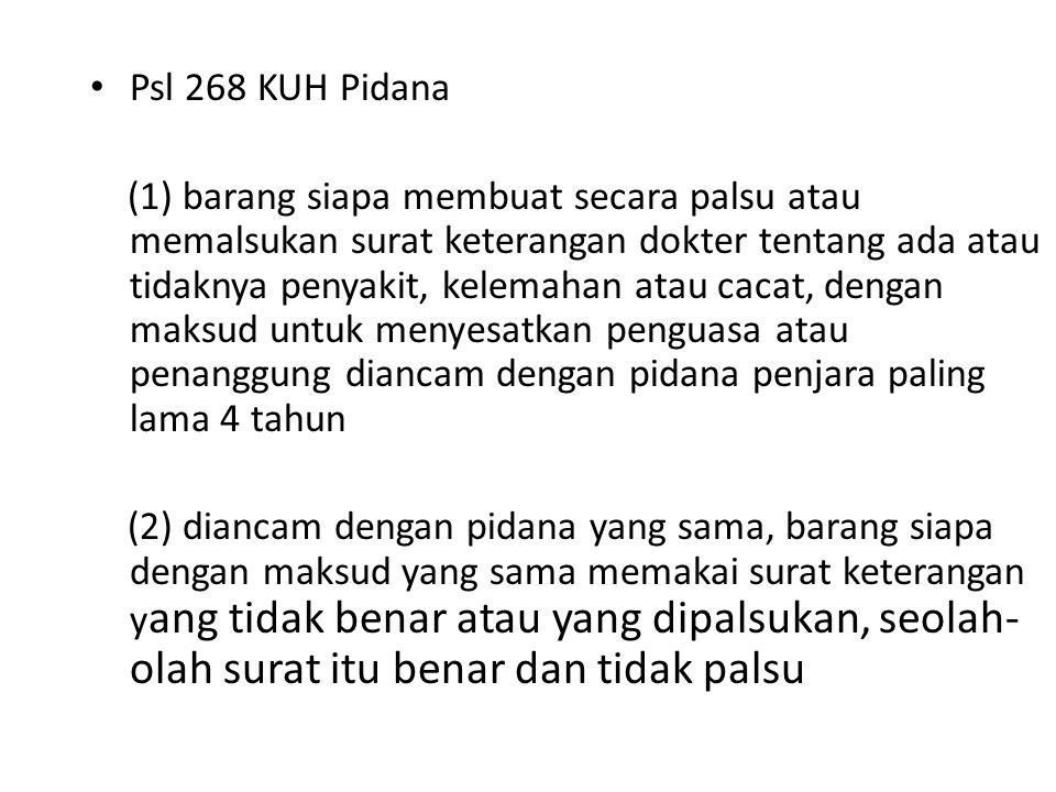 Psl 268 KUH Pidana
