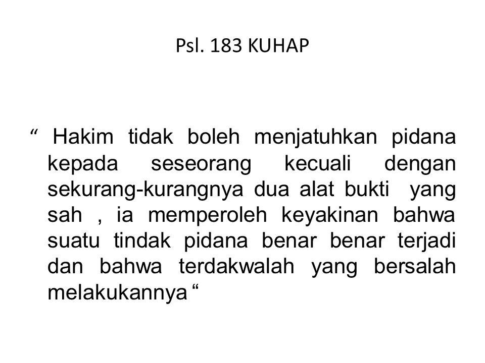 Psl. 183 KUHAP