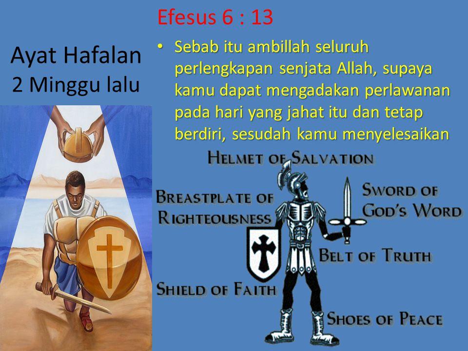 Ayat Hafalan 2 Minggu lalu