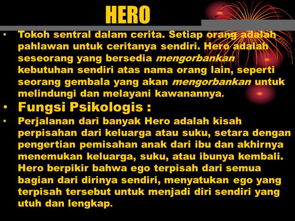 HERO Fungsi Psikologis :